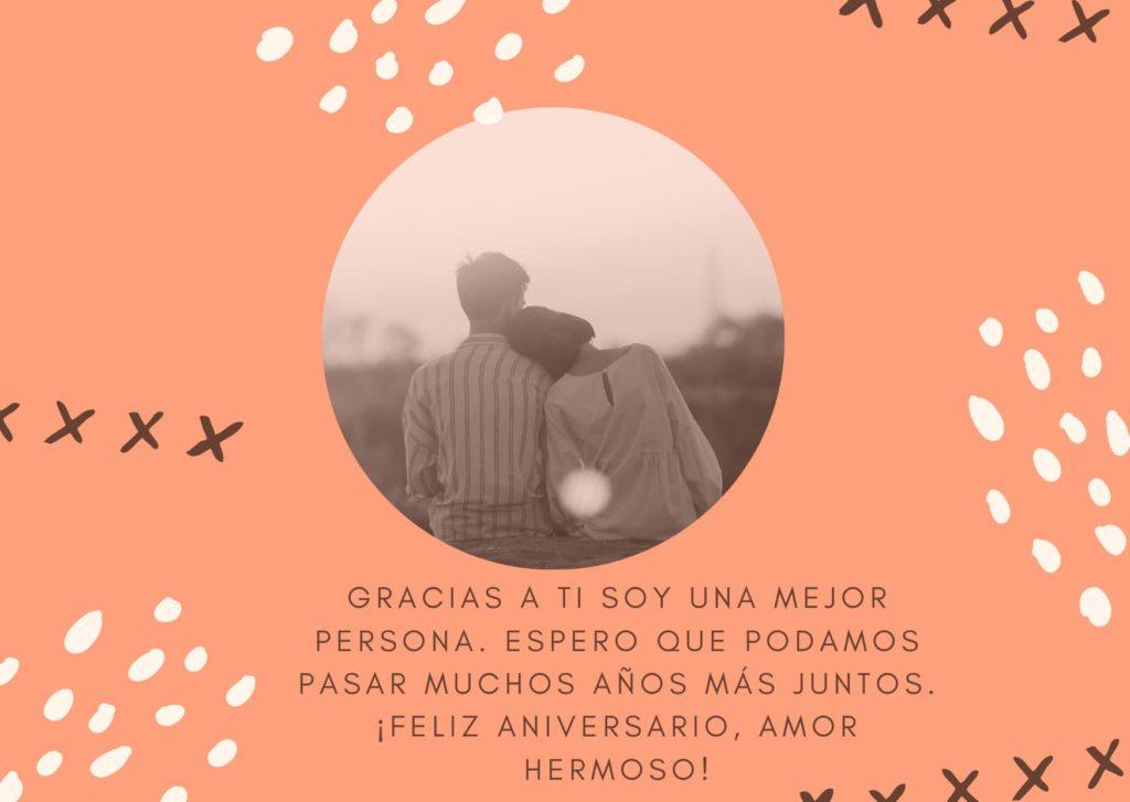 Agradecimiento de aniversario de bodas 2020