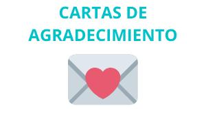 Ejemplo de Cartas de Agradecimiento