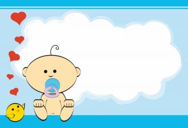 tarjeta-de-baby-shower e imprimir
